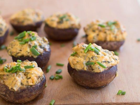 Food Healthy Stuffed Mushrooms
