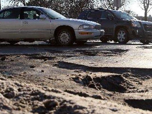 Southfield potholes Dozier