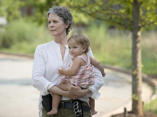 Carol Peletier is played by actress Melissa McBride
