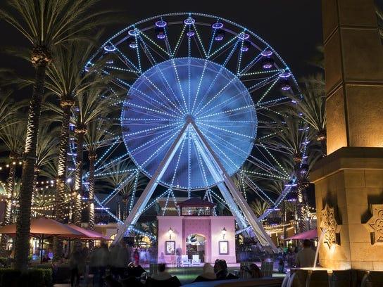 Irvine Spectrum Giant Wheel