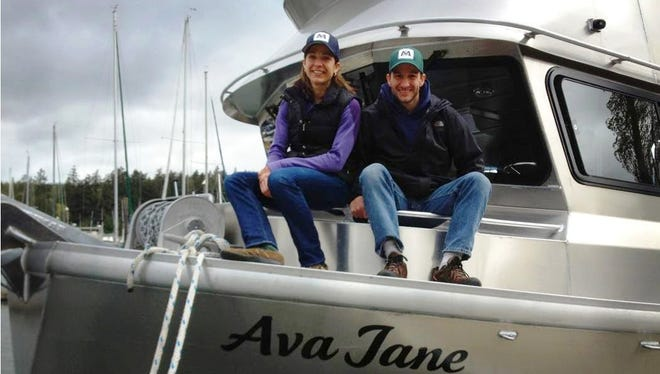 Jenn and Steve Kurian, founders and operators of Wild For Salmon.