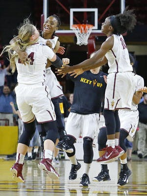 Women's basketball scored the most Directors Cup points for ASU athletics in 2014-15.