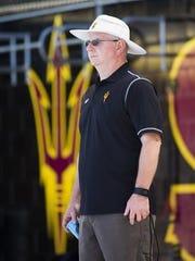 Bob Bowman began coaching at ASU in 2015.