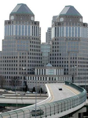 The P&G towers.