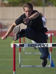 Brophy senior Bobby Grant is starting to tear it up on the track with state approaching.