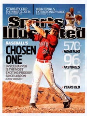 Bryce Harper graced the coverage of Sports Illustrated at age 16.