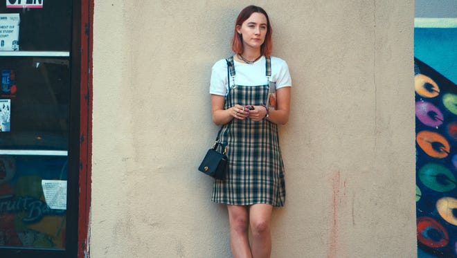 "Saoirse Ronan stars in ""Lady Bird."""