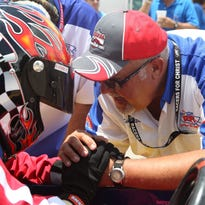 The spiritual side of racing: Chaplain comforts drivers before send-off