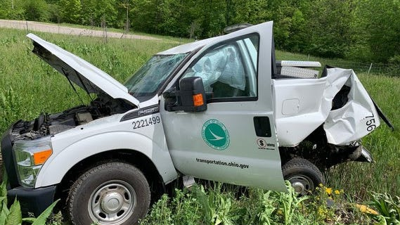 Five Ohio Department of Transportation crews have been struck statewide in just over a week.