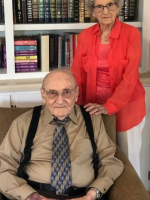 Rebecca and the Rev. George Washington Cobb Jr. were classmates at Holtville High School and married two years after their 1938 graduation.