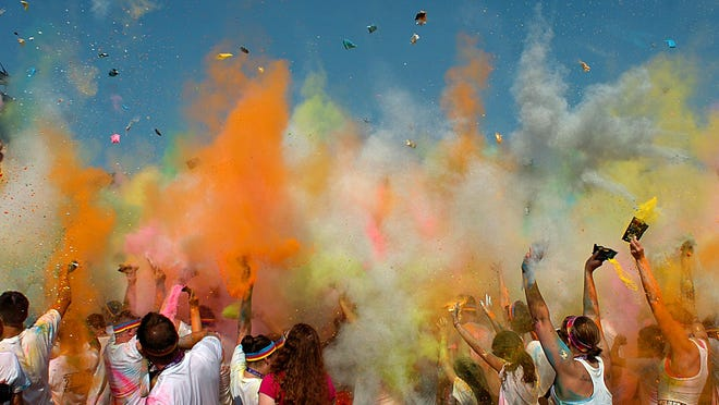 The Color Run Night comes to Lansing's Cooley Law School Stadium Saturday.