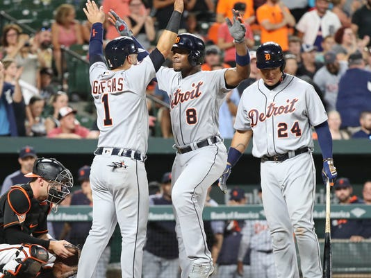 MLB: Detroit Tigers at Baltimore Orioles