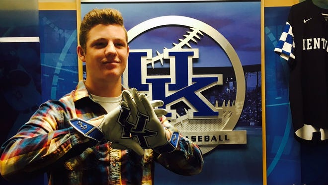 Eastern pitcher Brendan Koester has committed to play baseball at UK.