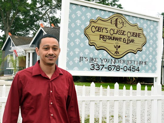Ryan Myers is one of the owners of Opelousas' newest restaurant, Coby's Classic Cuisine.