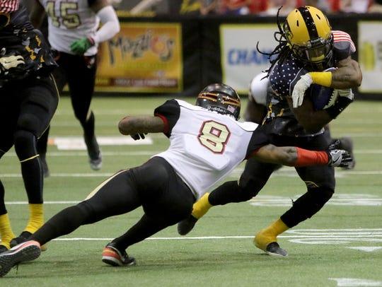 Wichita Falls Nighthawks running back Tyler Williams