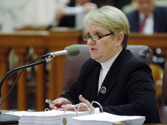 Amy Whitten, seen here in a 2008 appearance before the Legislature, received several contracts related to the aftermath of the 2010 BP oil spill.