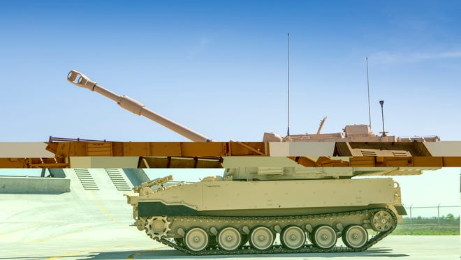 """BAE Systems got a $245.3 million contract to continue producing a test-run of armored tracked vehicles. The M109A7 """"self-propelled Howitzer"""" will replace the M109A6 Paladin."""