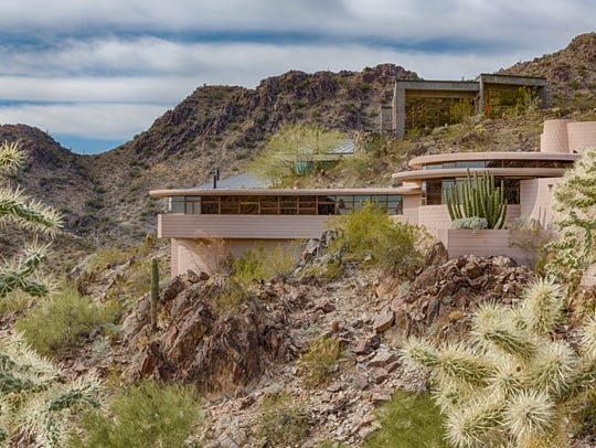The Norman Lykes House in Paradise Valley, Arizona