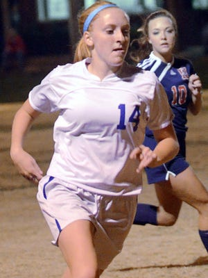 White House High sophomore forward Madisson Davis scored 42 goals and provided 17 assists this fall.