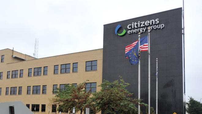 The Citizens Energy Group building at 2020 N. Meridian St. in Indianapolis.