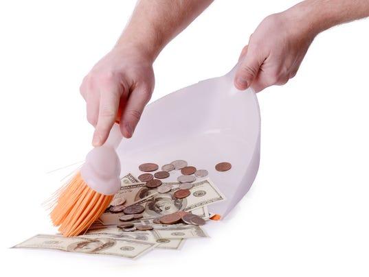money clean up