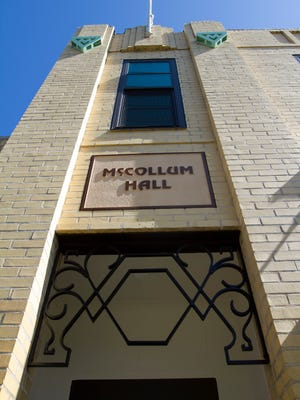 McCollum Hall's exterior renovation is complete.