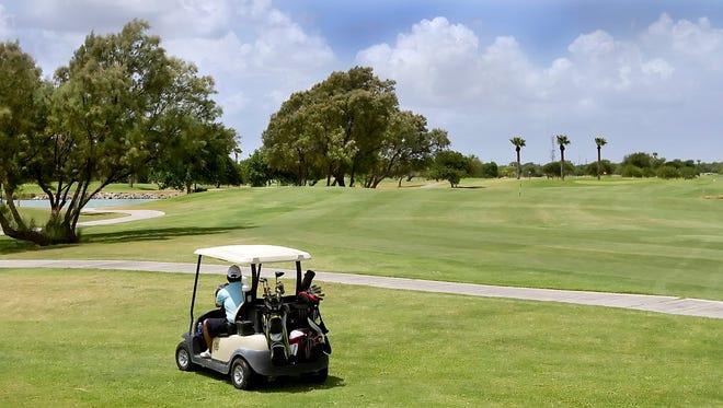 Local Golf Course stock photo