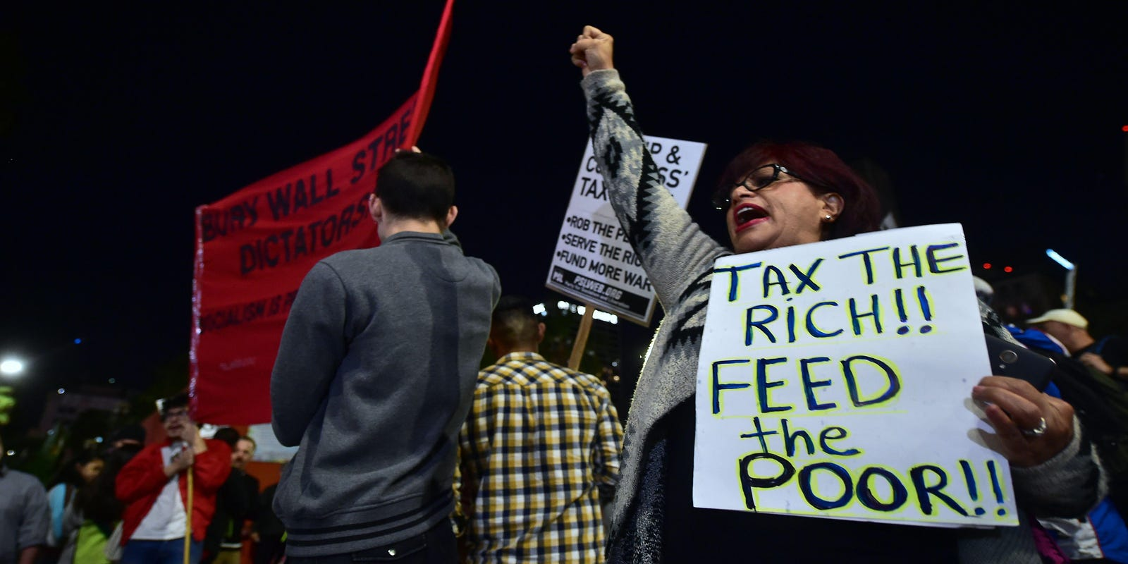 Image result for tax the rich feed the poor