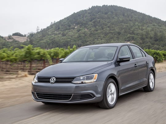 The conservative exterior of the 2014 Volkswagen Jetta TDI belies its fun handling, dashes of luxury and proclivity for fuel efficiency rated at up to 42 mpg.