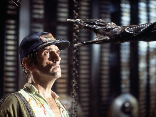 Brett (Harry Dean Stanton) in a scene from 'Alien'