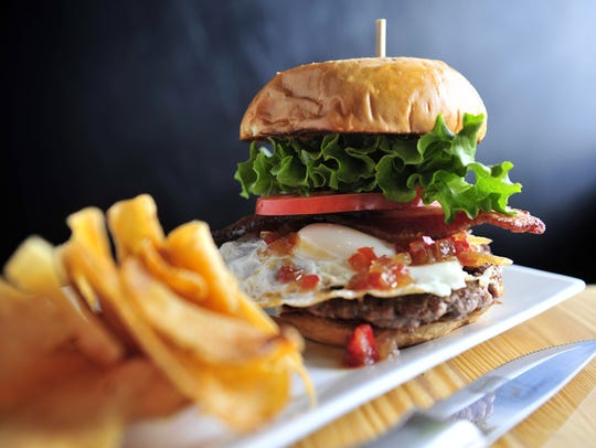 File / The Tennessean Buy The Farm Burger at Burger