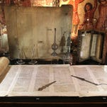 Interactive exhibit about the Bible