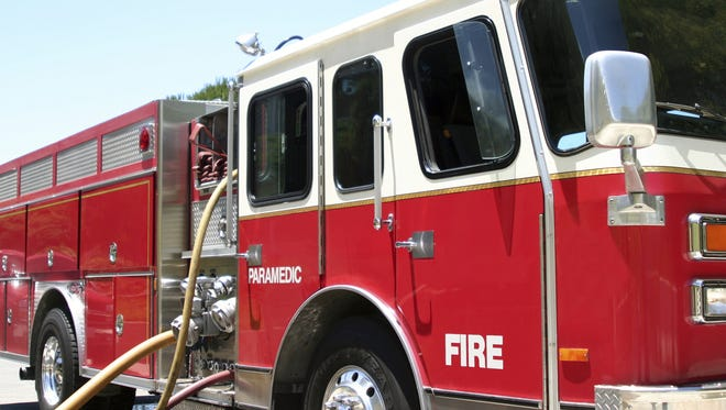 A fire damaged a Little Chute home early Monday morning.
