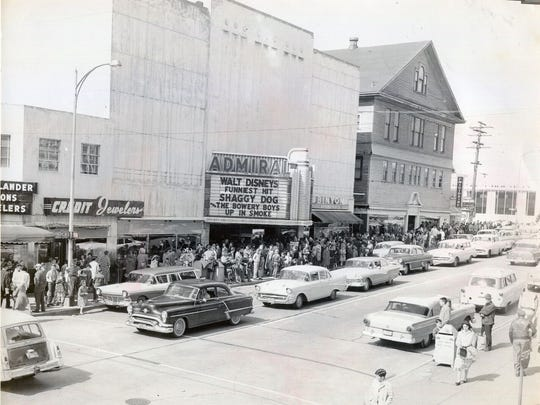 The Admiral Theatre was the center of a thriving downtown scene during its movie-house days.
