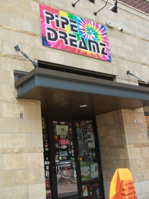 Pipe Dreamz, shown Wednesday, is one of three stores in Iowa City that were raided by the Drug Enforcement Administration in coordination with a nationwide crackdown on synthetic drugs.