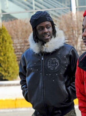 Chicago rapper Chief Keef, whose real name is Keith