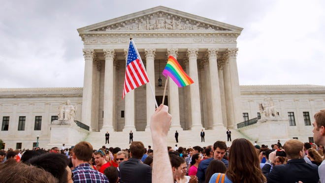 The appeals court ruling on workplace discrimination comes less than two years after the Supreme Court legalized same-sex marriage.