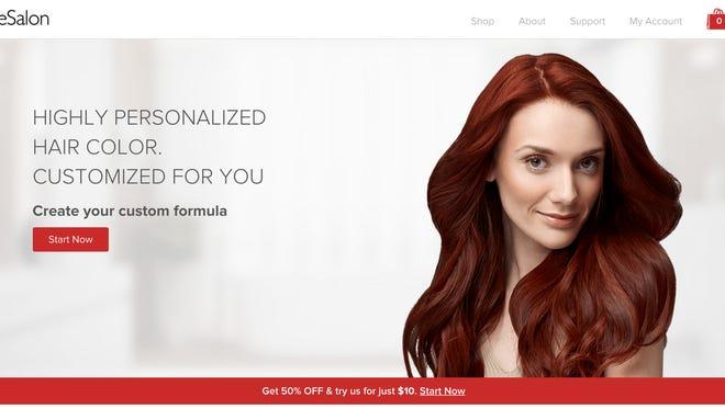 eSalon's home page