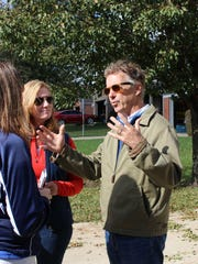 Republican U.S. Sen. Rand Paul campaigns in Independence