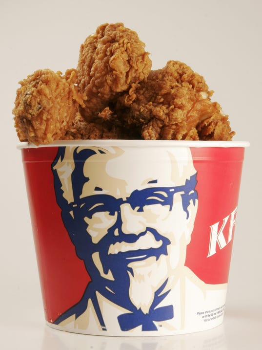 Awesome fried chicken bucket also prints photos