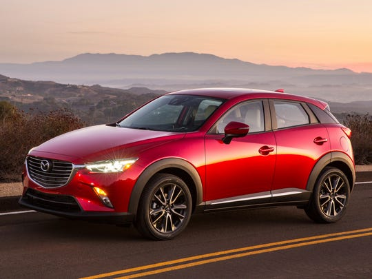 This photo provided by Mazda shows the CX-3, a good