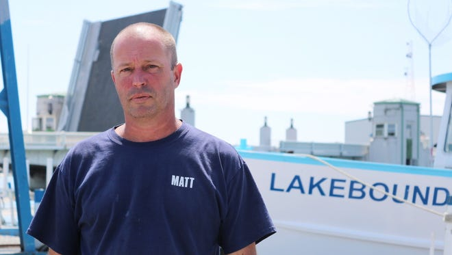 Matt Paeth, co-owner of the Drawbridge Marina, said his and many other businesses north of the Port Clinton Lift Bridge have been hurt by the continued delays.