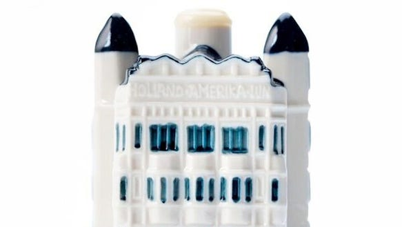 KLM's 97th Deltware Miniature House features Rotterdam's