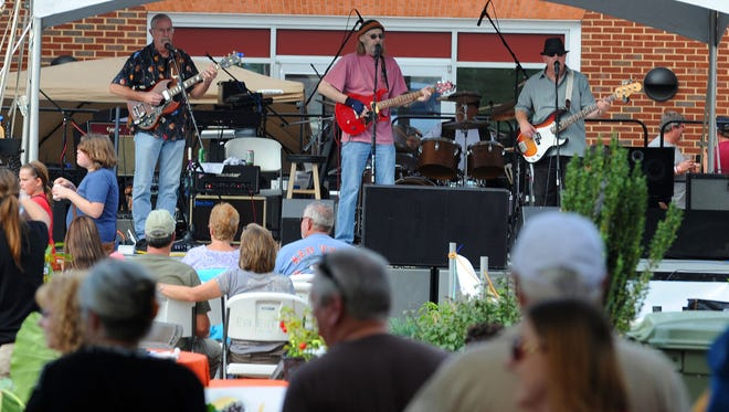 "?Pure Blind Luck? performs for those gathered during the Virginia Chili, Blues ?n? Brews Festival in downtown Waynesboro on Saturday. Mike Tripp/The News Leader ""Pure Blind Luck"" performs for those gathered during the Virginia Chili, Blues n' Brews Festival in downtown Waynesboro on Saturday, Sept. 22, 2012."