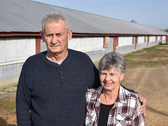Thomas and Pat Cahall of Frankford.