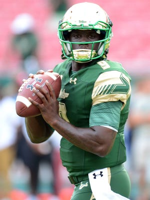 """UC will have to deal with South Florida Bulls quarterback Quentin Flowers. """"It's kind of like they have a 12th and 13th guy on the field at some times,"""" is how Bearcats coach Tommy Tuberville described Flowers"""