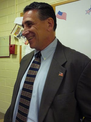 Republican Lon Hofstein smiles as his victory in the Rockland County Legislature District 5 race was confirmed Wednesday.