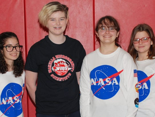 Wakulla Middle School students successfully launch