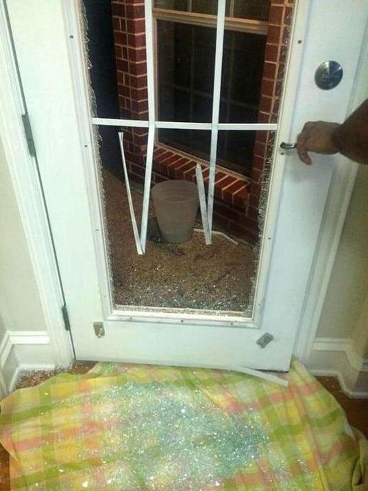Alert Burglars Target Glass Back Doors