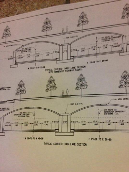 Humboldt Parkway Plans